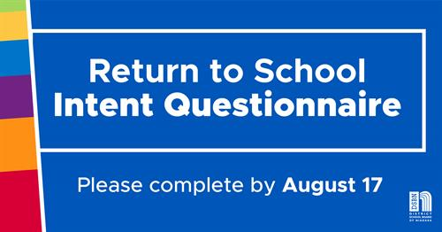 Return to School Intention