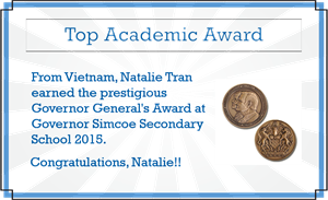 Top Academic Award