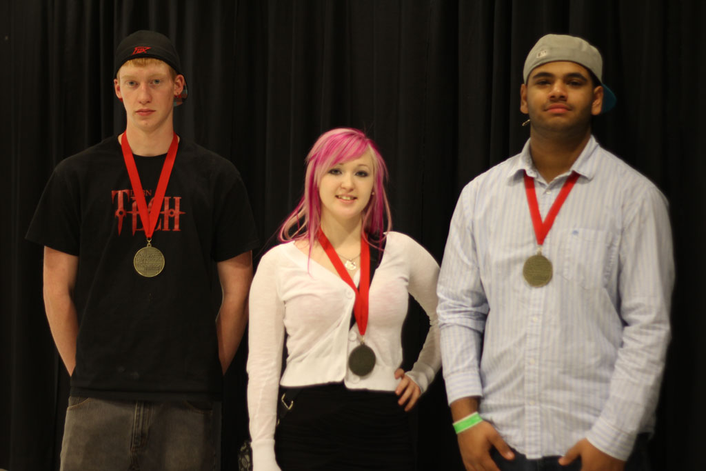 Secondary Gold Medal Winners